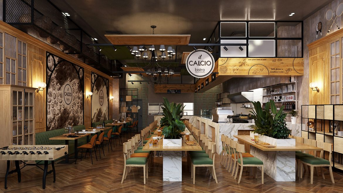 Restaurants and interior designers