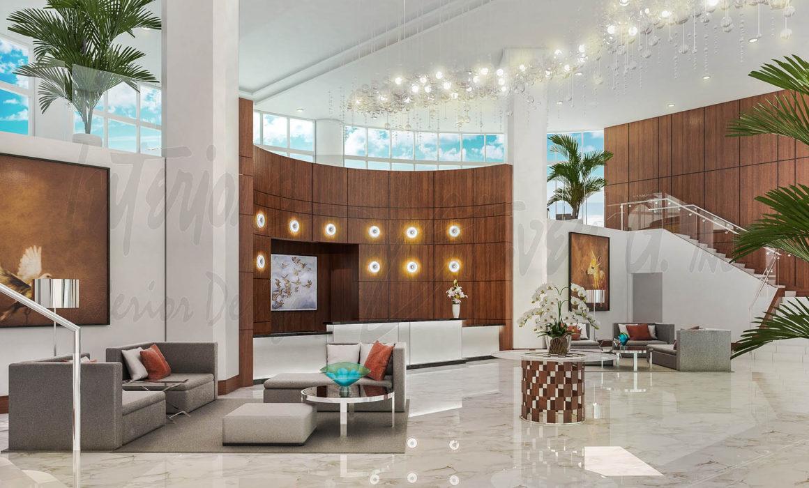 What is a hotel interior designer?
